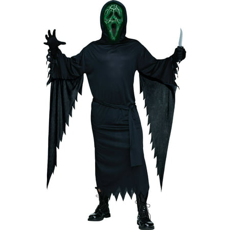 Smoldering Ghost Face Men's Adult Halloween Costume](Adult Ghost Costumes)