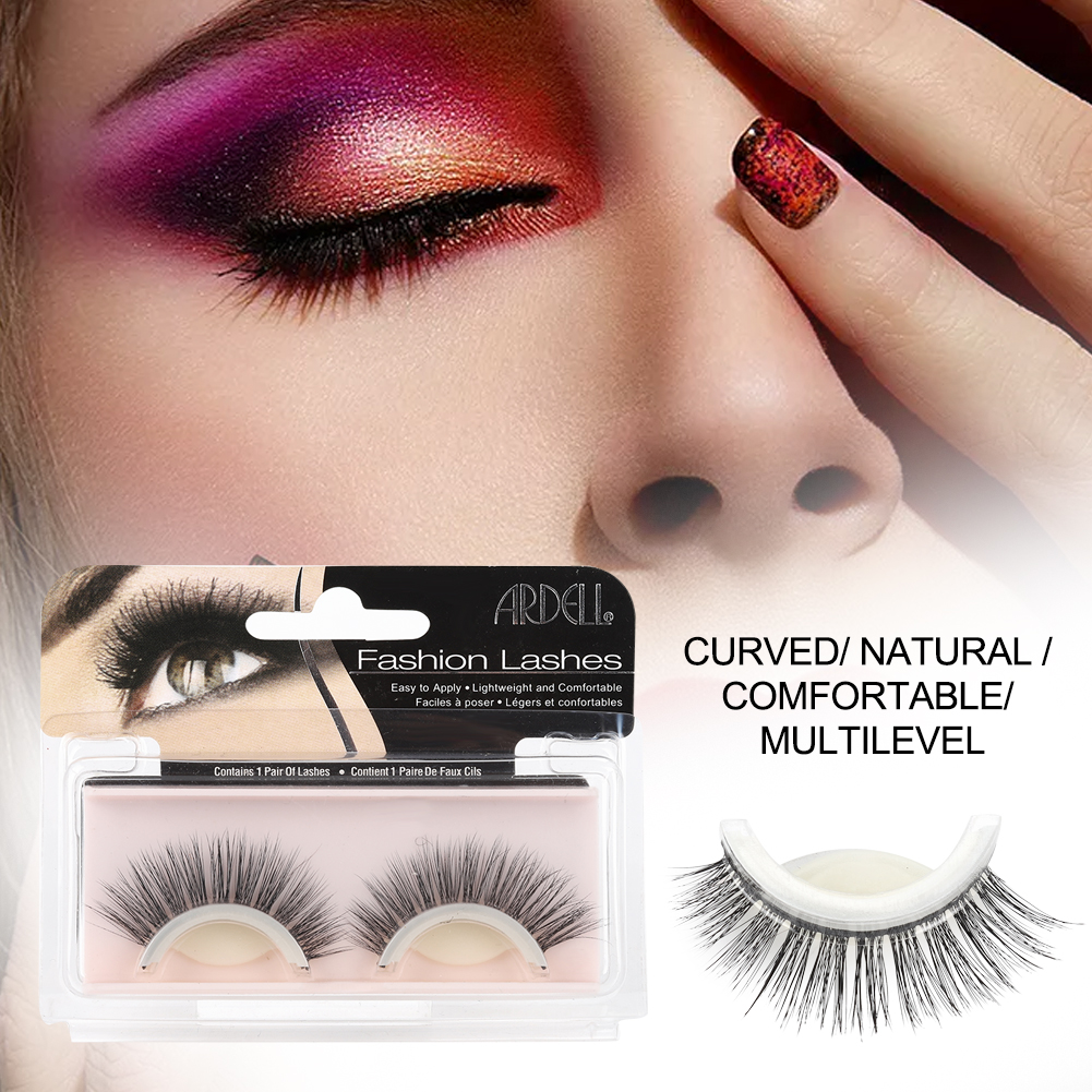 66adf1e752a Self-Adhesive Eyelash Extension Pad - 3D False Eyelashes Non-Irritating  Lashes Strips – Easy to Wear, No Glue Involved – Natural Fashion Eye Lash  Extensions ...