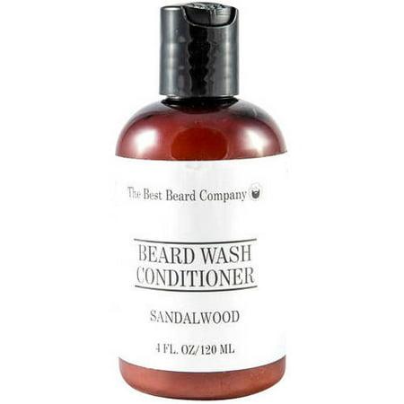 The Best Beard Company Sandalwood Beard Wash Conditioner, 4 fl oz