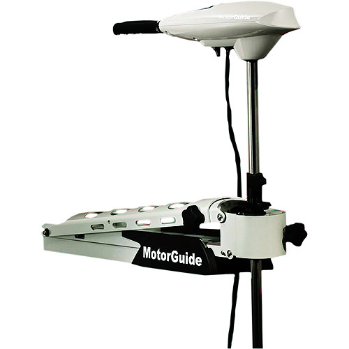 "MotorGuide Trolling Motors, Saltwater Great White Edition (Hand/Bow 82 lb. 60"" Shaft)"