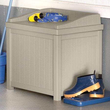 Suncast Saint Albans Plastic Storage Bench