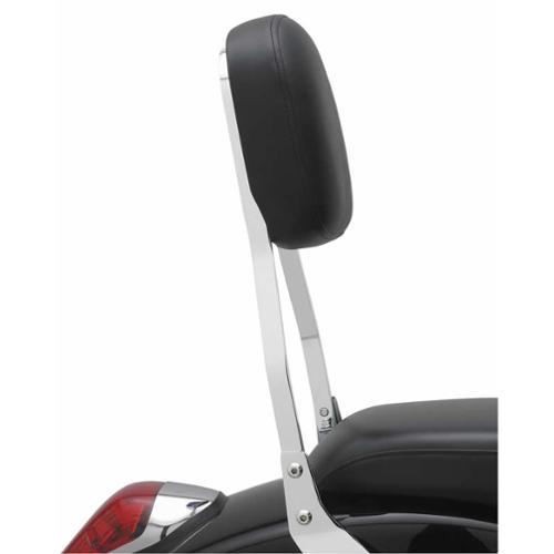 """Cobra Square Short 14"""" Sissy Bar Chrome Fits 04-06 Honda VTX1300C"""