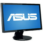 "ASUS 21.5"" Widescreen LCD Monitor, Black (VE228H)"