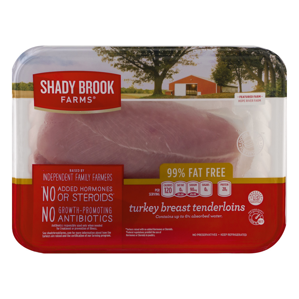 Shady Brook Farms 99% Fat Free Turkey Breast Tenderloins, 1.0 CT by Cargill Meat Solutions Corp