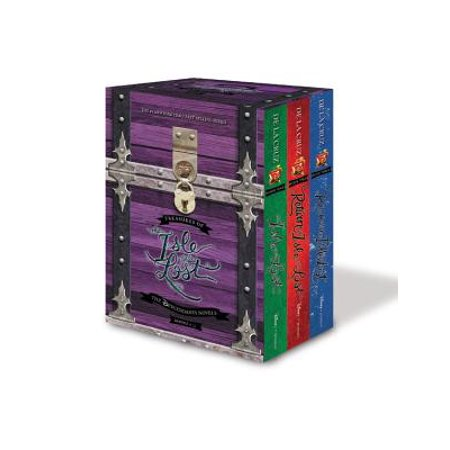 Music Treasure Box - Treasures of the Isle of the Lost [3-Book Hardcover Boxed Set + Poster]