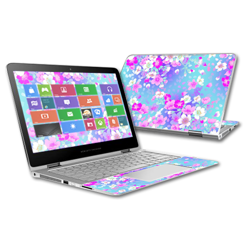"""Skin For HP Spectre x360 2-in-1 13.3"""" –  In Bloom 