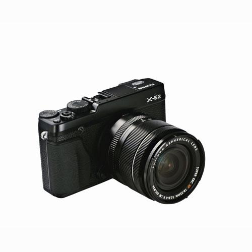 FujiFilm X-E2 Digital Camera with 18-55mm Lens Black by Fujifilm
