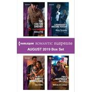 Harlequin Romantic Suspense August 2019 Box Set - eBook