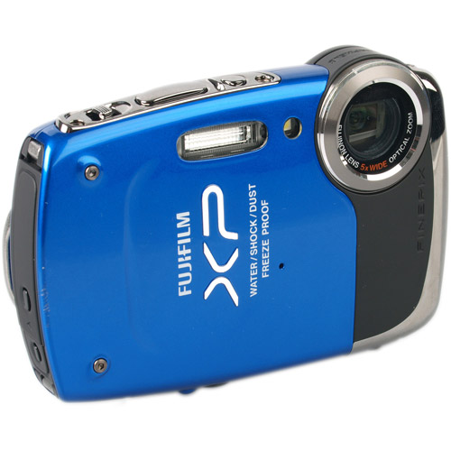 "Fujifilm FinePix XP20 Blue 14.2MP Digital Camera w/ 5x Optical Zoom Lens, 2.7"" LCD Display, HD Video, Waterproof, Refurbished"