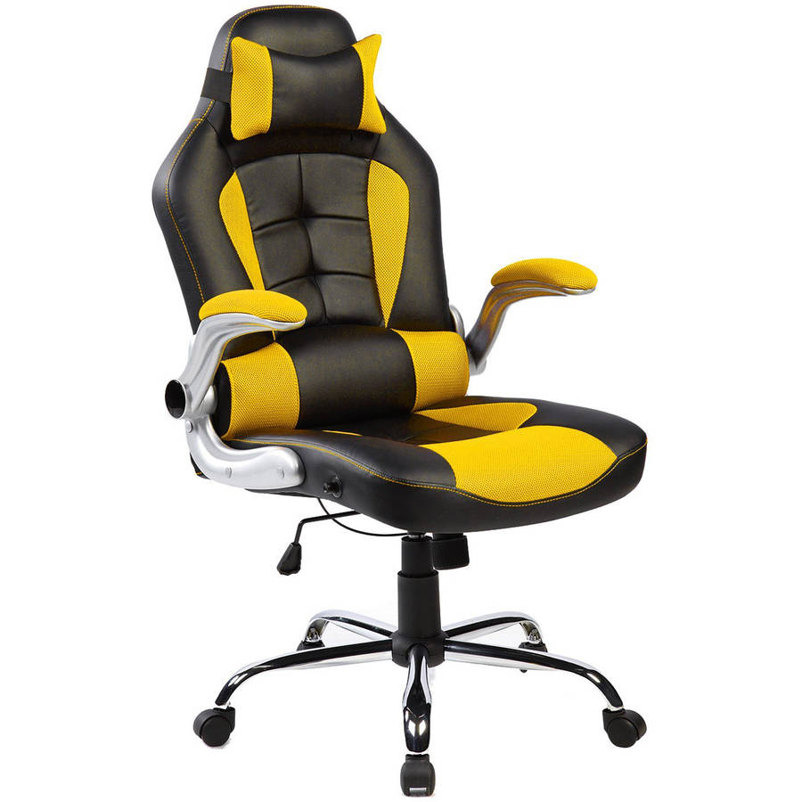 Merax Ergonomic High-Back Racing Style Swivel Gaming Office Chair for Reclining and Napping