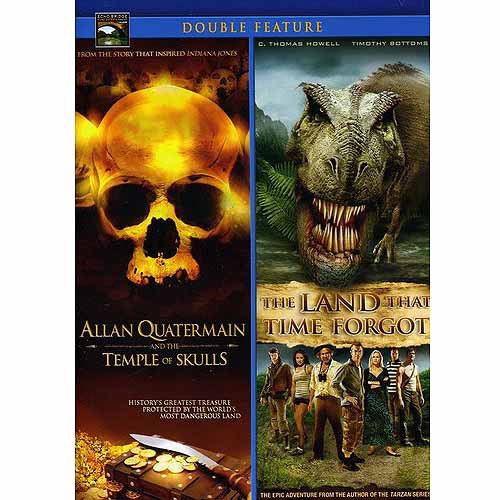 Allan Quatermain And The Temple Of Skulls / The Land That Time Forgot