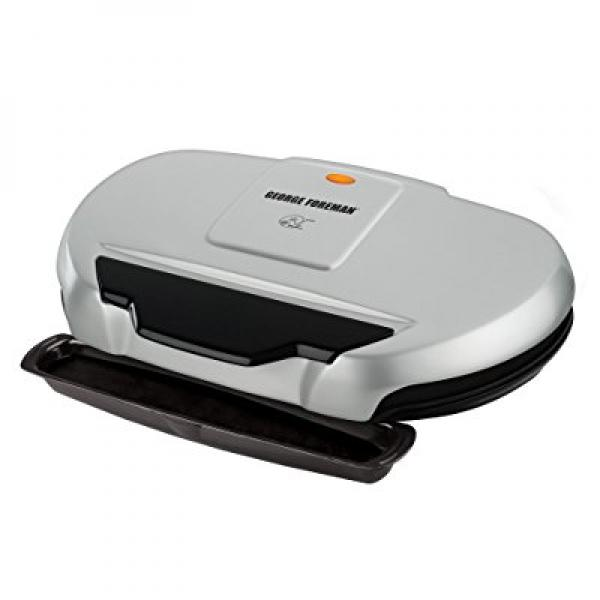 George Foreman GR144 Nonstick 9 Serving Classic Plate Gri...
