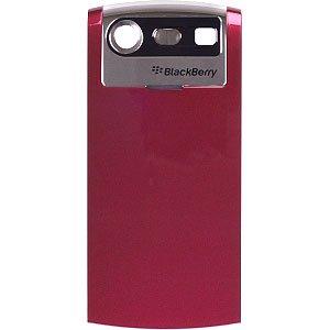 Blackberry Standard Replacement Battery Door, Back Rear Battery Cover Door Case for BlackBerry 8110,BlackBerry 8120,BlackBerry 8130 - Red
