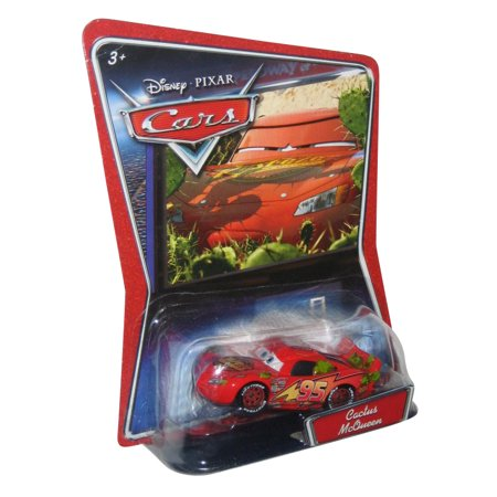 Disney Pixar Cars Movie Cactus Lightning McQueen Die Cast Car Toy