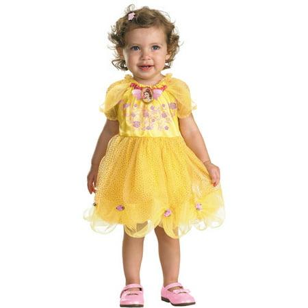 Disney Princess Belle Infant Halloween Costume - Walmart.com