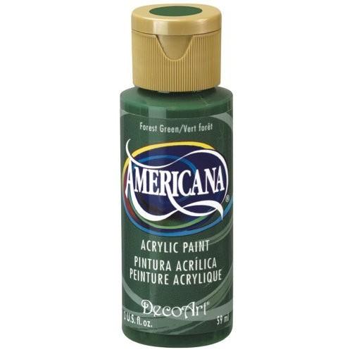 DecoArt Americana Acrylic Paint, 2-Ounce, Forest Green