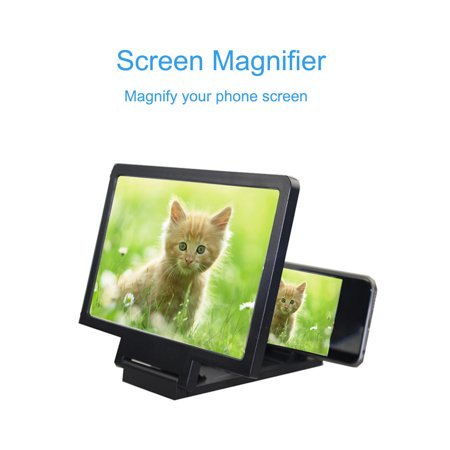 Universal Mobile Phone Screen Magnifier Bracket Enlarge Stand with 1pcs KN95 face mask - image 3 de 4