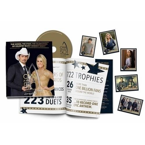 The 50th Annual CMA Awards (Walmart Exclusive) (ZinePak)