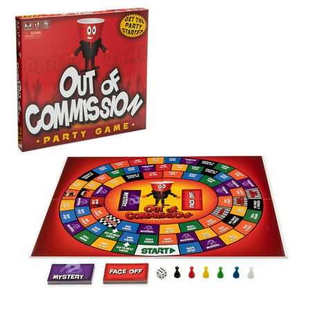 Out of Commission Drinking Game; an old fashioned board game with an intoxicating twist! Get the party started and pre-game with OOC Adult Party