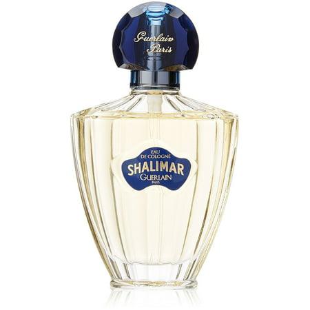 Guerlain Shalimar Eau De Cologne Spray for Women 2.5 oz 100ml Cologne Eau De Cologne