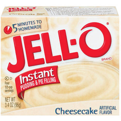 Jell-O Cheesecake Instant Pudding & Pie Filling, 3.4 oz
