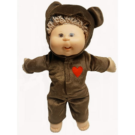 Halloween Superstore Website (Doll Clothes Superstore Brown Bear Halloween Costume Fits Cabbage Patch Kid)