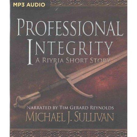 Professional Integrity
