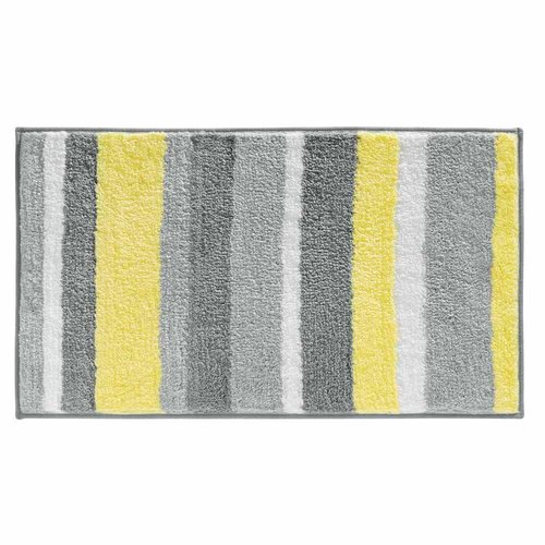InterDesign Stripz Bath Rug, 34x21