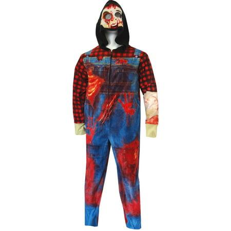 Zombie Farmer Onesie Union Suit Pajama