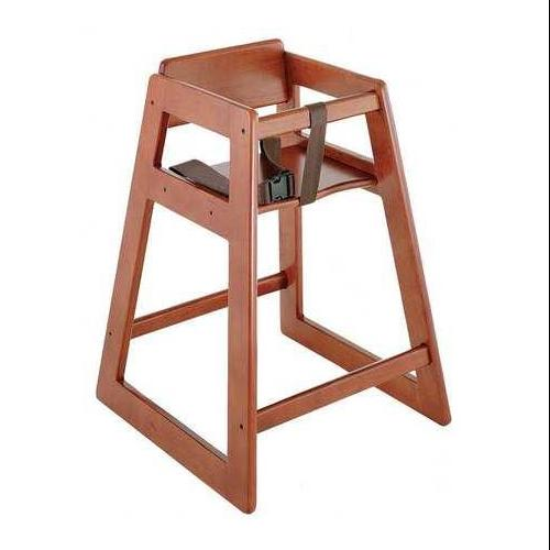 Wood High Chair, Black ,Csl Foodservice And Hospitality, 803BL