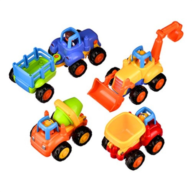 1 pc Push and Go Pull Back Vehicles Friction Powered Cars Inertial Car Toys