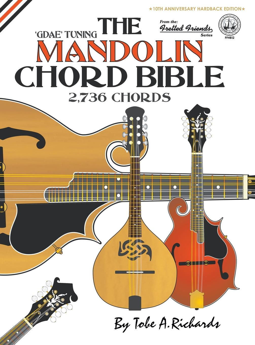 Fretted Friends The Mandolin Chord Bible Hardcover Walmart