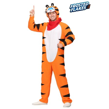 Tiger Costume For Men (Frosted Flakes Tony the Tiger Plus Size Costume for Men)