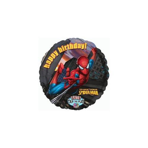 Mayflower Distributing Spider-Man Birthday Singatune Foil Balloon