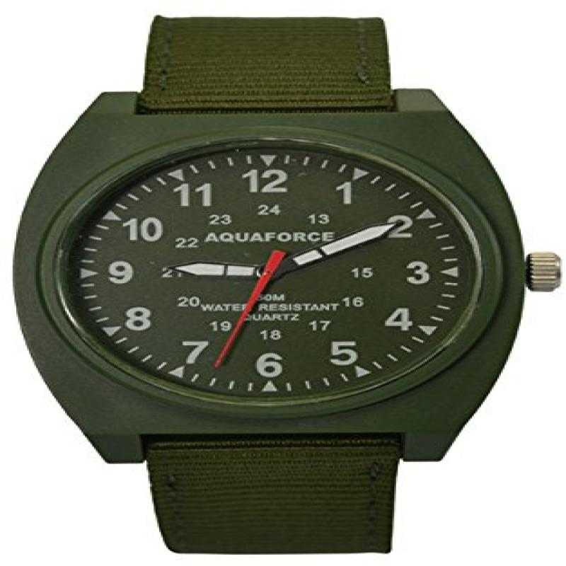 Image of Aqua Force Analog Field Watch with 40mm OD Face