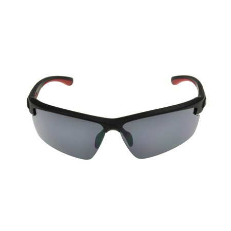 Foster Grant Men's Black Blade Sunglasses KK05