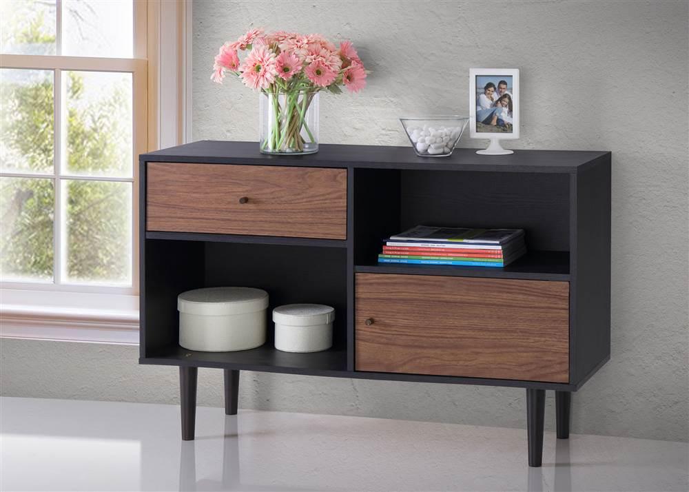 Baxton Studio Auburn Mid-century Modern Scandinavian Style Sideboard Storage Cabinet by Wholesale Interiors