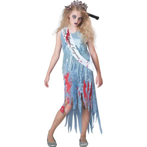 Tween Homecoming Horror Zombie Costume by Incharacter Costumes LLC��� 18049, 10 to 12,12 to 14,8 to 10