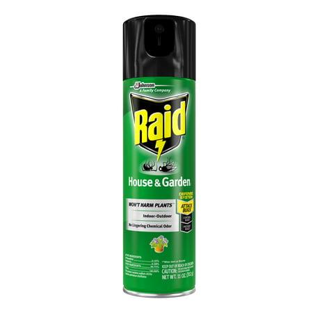 Raid House & Garden I, 11 Ounces (1 count) - Walmart.com