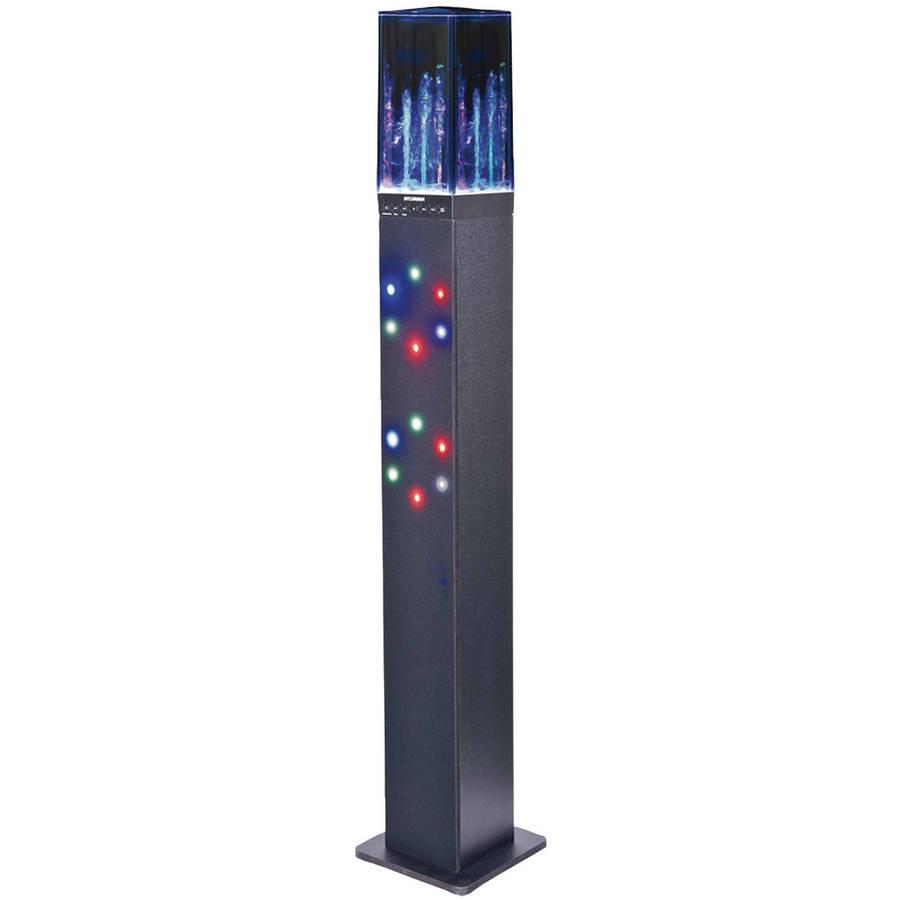 Sylvania SP349 Water Dancing Bluetooth Tower Speaker