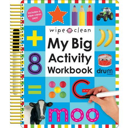 Wipe Clean: My Big Activity Workbook Wipe Activity Tote