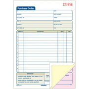 Adams, ABFTC5831, 3-Part Carbonless Purchase Order Forms, 1 Each