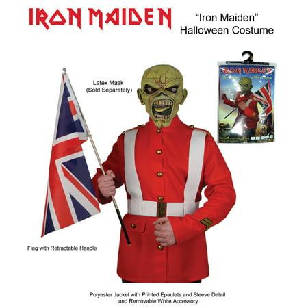 Iron Maiden Trooper Halloween Costum Medium Walmart