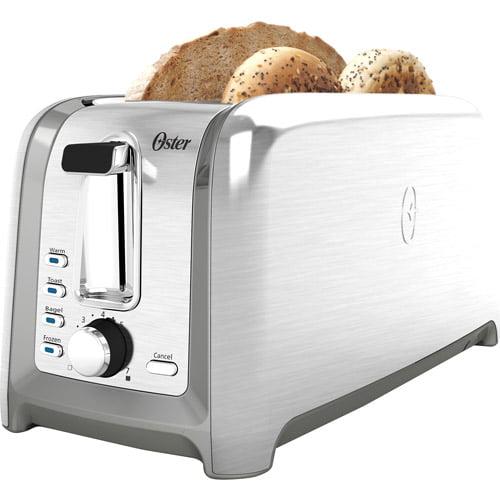 Oster Designed for Life 4-Slice Toaster, Brushed Stainless TSSTTRDFL1