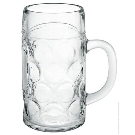Oktoberfest Plastic Beer Mugs (Libbey Oktoberfest Bavarian Isar Beer Mug - 1 Liter)