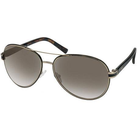Flower Womens Prescription Sunglasses, Casey Gold (Round Prescription Sunglasses)