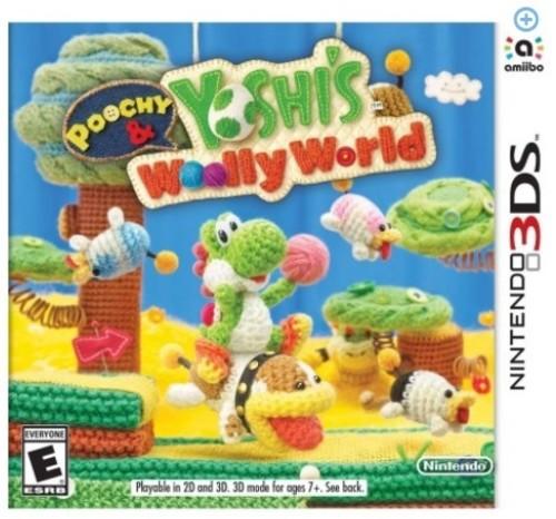 Poochy & Yoshi Woolly World, Nintendo, Nintendo 3DS, 045496744519