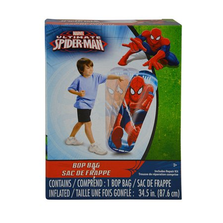 Toy Marvel Spider-Man Inflatable Bop Punching Bag