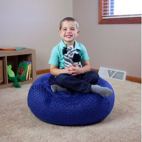 Phenomenal Acessentials Jumbo Bean Bag Chair Multiple Colors Bralicious Painted Fabric Chair Ideas Braliciousco