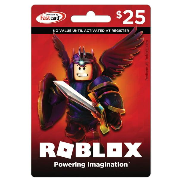 Roblox 25 Gift Card Walmart Com Walmart Com